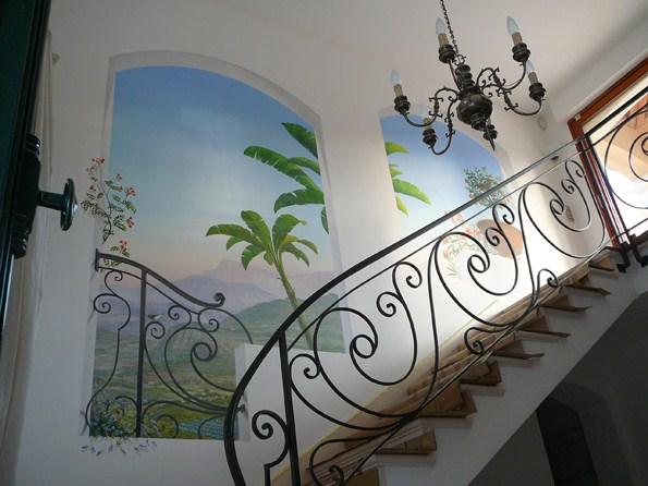 D cors et fresques en trompe l 39 oeil for Decors muraux exterieurs