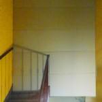 Escalier muré: avant
