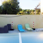 Avant: Mur piscine à la Cadière d'Azur