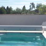 Avant: Mur piscine à Tarascon
