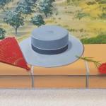 Chapeau et éventail andalous